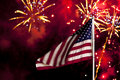 Independence Day Fireworks Stock Photos - 10029253