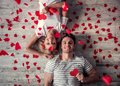 Romantic Young Couple Royalty Free Stock Photos - 100215868