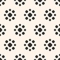Dotted Seamless Pattern. Simple Floral Geometric Texture. Stock Images - 100345764
