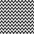 Vector Zigzag Chevron Seamless Pattern. Curved Wavy Zig Zag Line Royalty Free Stock Image - 100346046