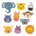 Animal Faces Stock Photo - 100379150