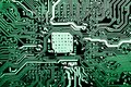 Close Up Of Circuits Electronic On Mainboard Technology Computer Background  Logic Board,cpu Motherboard,Main Board,sys Royalty Free Stock Images - 100386459