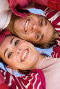 Heads Together Couple Royalty Free Stock Image - 10043206