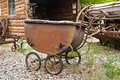 Rusting Antique Baby Carriage Stock Photography - 10065032