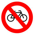 No Cycling Sign Stock Photo - 10072540