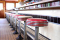 Retro Diner Royalty Free Stock Photography - 10088917