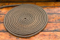 Coiled Rope Royalty Free Stock Photos - 1012688