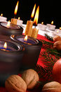 Christmas Candle Royalty Free Stock Image - 1017126