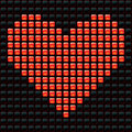 Dotted Valentine Royalty Free Stock Photography - 10119227
