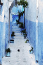 Detail From Typical House In Chefchaouen, Morocco Royalty Free Stock Photography - 10119887