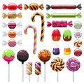 Halloween Sweet Treats Set. Candies And Snacks. Royalty Free Stock Photo - 101124285