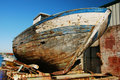Old Hull, Ship Wreck. Royalty Free Stock Photography - 10127267