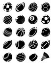 Sport Balls Set. Vector Royalty Free Stock Photography - 101242397