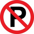 No Parking Sign Royalty Free Stock Photography - 101264787