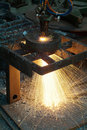 Cutting Steel Royalty Free Stock Photos - 10135018