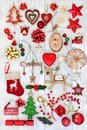 Festive Christmas Decorations Royalty Free Stock Photos - 101354578