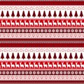 Christmas Seamless Pattern Winter Holidays Ornament Wrapping Paper Background Concept Royalty Free Stock Image - 101387096