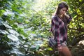 Outdoor Fashion Image Of Stylish Young Lady,fashionable.Lifestyle Portrait Of Stunning Hipster Girl, Wearing Elegant Royalty Free Stock Photo - 101438265