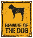 Beware Of The Dog Stock Photos - 101535693