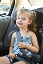 Child In Car Seat Royalty Free Stock Images - 10168049