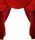 Stage Curtain Royalty Free Stock Images - 10169939