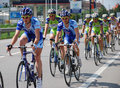 Group Of Cyclists A Giro D Italia 2009 Stock Photography - 10182772