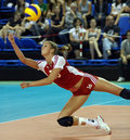 FIVB WOMEN S VOLLEYBALL CHAMPIONSHIP - CZECH REP. Royalty Free Stock Photography - 10202107