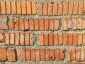 Red Brick Wall, 60`s Building Royalty Free Stock Photo - 102001655