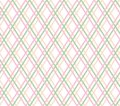 Geometric Background, Seamless, Thin Pink Lines, Diamonds, Vector. Royalty Free Stock Images - 102004219