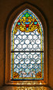 Stained Glass Window Of Church Royalty Free Stock Photography - 10223977