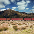 Freight Train Stock Image - 10227321