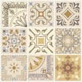 Set Of Different Seamless Geometric Pattern, Texture For Wallpaper, Tiles, Web Page Background, Fabric And Wrapping Paper Design Stock Images - 102202134