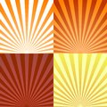 Set Of Backgrounds Ray Or Abstract Sun Rays. Set Texture Ray Burst And Retro Rays Background. Vector Royalty Free Stock Images - 102255149