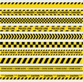 Black And Yellow Stripes Royalty Free Stock Images - 102420969