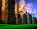 Industrial Structure Stock Photos - 10253853
