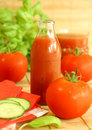 Tomato And Juice Stock Photography - 10267842