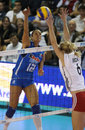 FIVB WOMEN S VOLLEYBALL CHAMPIONSHIP - ITALY Royalty Free Stock Photography - 10281707
