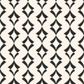 Art Deco Seamless Pattern. Geometric Texture With Curved Shapes. Stock Photography - 102954872