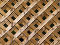 Wooden Lattice Royalty Free Stock Images - 1034709