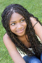 African American Teenager Royalty Free Stock Photography - 1038907