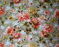 Original Textile Fabric Ornament Of The Modern Style. Crock Is Hand-painted With Gouache. Stock Photography - 103089072