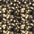 Blurred Garland. City Light Blur Bokeh, Defocused Background. Christmas Abstract. Stock Photo - 103089860