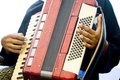 Accordian Player Royalty Free Stock Photography - 10316197