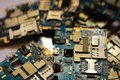 Many Discarded Circuit Boards Royalty Free Stock Photo - 103329795