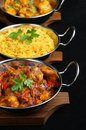 Indian Curry Meal Stock Photo - 10341330