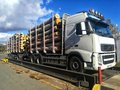 Logs Truck On The Weight Bridge Stock Images - 103470754