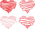 Beautiful Hearts Royalty Free Stock Images - 10350969