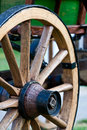 Old Wooden Wheel Stock Photography - 10357192