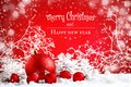 Merry Christmas And Happy New Year. A New Year`s Background With New Year Decorations, Background With Copy Space. Stock Images - 103513454