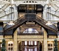 Rookery Building, Chicago, IL - August 3, 2017: Light Court Lobby Of The Rookery Building, South LaSalle St, Loop Area, Chicago, C Stock Photo - 103569900